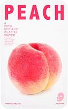 Kup Maseczka na tkaninie do twarzy Brzoskwinia - The Iceland Peach Mask