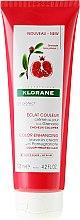 Kup Krem bez spłukiwania z wyciągiem z granatu do włosów farbowanych - Klorane Color Enhancing Leave-In Cream With Pomegranate