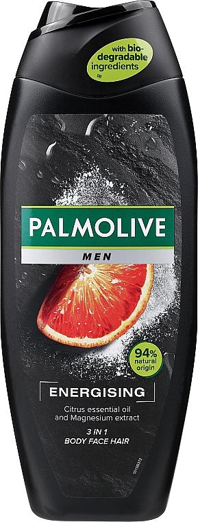 Energetyzujący żel pod prysznic dla mężczyzn 3 w 1 - Palmolive Men Energizing 3 in 1