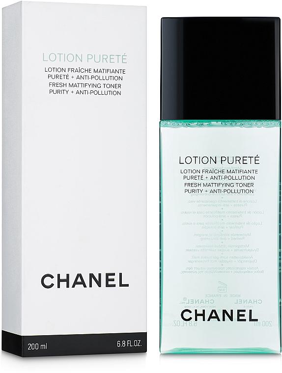 Tonik oczyszczająco-matujący - Chanel Precision Lotion Pureté