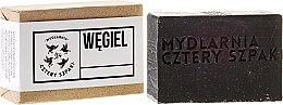 Kup Detoksykujące mydło węglowe - Cztery Szpaki Soap