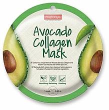 Kup Maska w płachcie z awokado - Purederm Avocado Collagen Mask