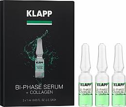 Kup Dwufazowe serum do twarzy z kolagenem - Klapp Bi-Phase Serum + Collagen