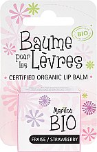 Kup Balsam do ust Truskawka - Marilou Bio Certified Organic Lip Balm Strawberry