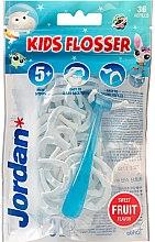Kup Zestaw - Jordan Kids Flosser (floss/1szt+refils/36szt)