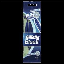 Kup Jednorazowe maszynki do golenia, 9 + 1 szt. - Gillette Blue II Chromium