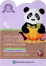 Kup Odżywcza maska na tkaninie do twarzy Panda - Belleza Castillo Edge Cutimal Panda Nutriment Mask