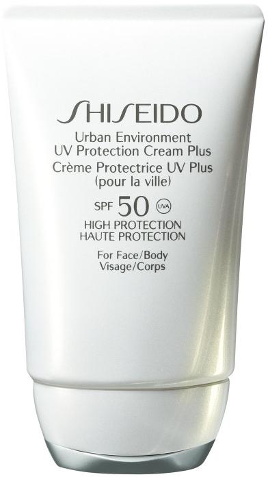 Nawilżający krem ochronny do twarzy i ciała SPF 50 - Shiseido Urban Environment UV Protection Cream Plus