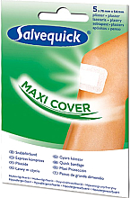 Kup Duży opatrunek, 5 szt. - Salvequick Maxi Cover