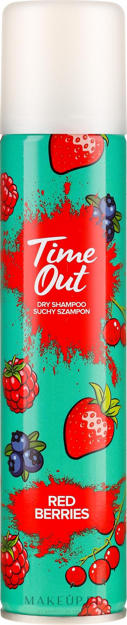 Suchy szampon do włosów Czerwone jagody - Time Out Red Berries — фото 200 ml