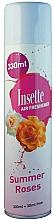 Kup Odświeżacz powietrza w sprayu Róża - Insette Air Freshener Summer Roses