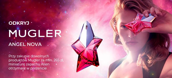 Przy zakupie dowolnych produktów Mugler za min. 265 zł, miniaturę zapachu Alien otrzymasz w prezencie