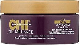 Kup Wygładzająca pasta nabłyszczająca do stylizacji włosów - CHI Deep Brilliance Olive & Monoi Smooth Edge High Shine & Firm Hold