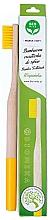 Kup Bambusowa szczoteczka do zębów, miękka, żółta - Biomika Natural Bamboo Toothbrush