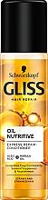 Kup Ekspresowa odżywka regeneracyjna do włosów podatnych na rozdwajanie - Schwarzkopf Gliss Kur Hair Repair Oil Nutritive Conditioner
