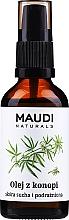Kup Olej z konopi do skóry suchej i podrażnionej - Maudi