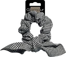 Kup Gumka-scrunchie do włosów, 417671, w pepitkę - Glamour