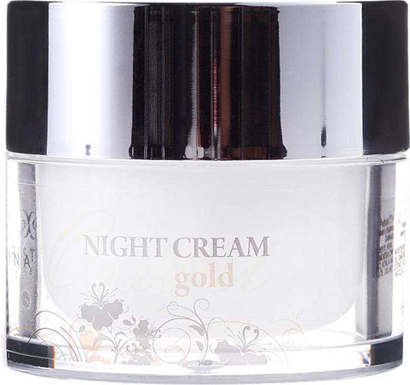 Krem do twarzy na noc ze złotem - Hristina Cosmetics Orient Gold Night Cream — фото N2