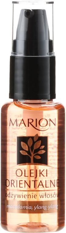Odżywczy olejek do włosów - Marion Olejki orientalne