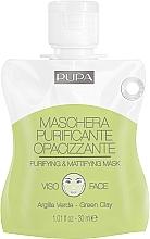 Kup Oczyszczająca i matująca maska do twarzy - Pupa Shachet Mask Purifyng & Mattifyng Mask