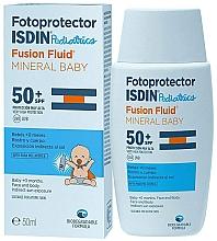Kup Krem z filtrem SPF 50 dla dzieci - Isdin Fotoprotector Pediatrics Fusion Fluid Mineral Baby SPF50+