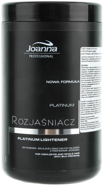 Rozjaśniacz do włosów Platinum - Joanna Professional