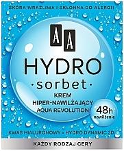 Kup Hipernawilżający krem do twarzy - AA Hydro Sorbet