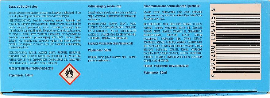 Zestaw Ochrona nóg - Pharma CF No.36 (f/spr/150ml + f/gel/75ml + foot/serum/50ml) — фото N5