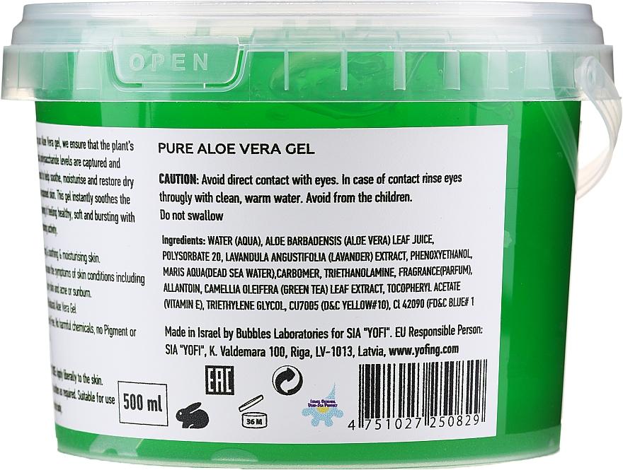 Żel do ciała z aloesem - Yofing Pure Aloe Vera Gel — фото N2