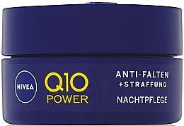 Ujędrniający krem na noc przeciw zmarszczkom - Nivea Q10 Power — фото N1
