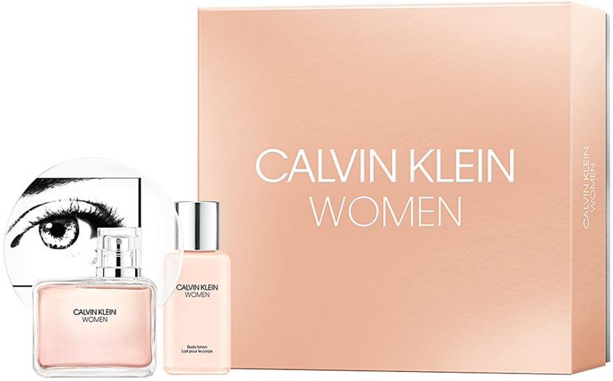 Calvin Klein Women - Zestaw (edp 100 ml + b/lot 100 ml) — фото N1