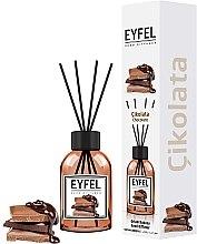 Kup Dyfuzor zapachowy Czekolada - Eyfel Perfume Reed Diffuser Chocolate