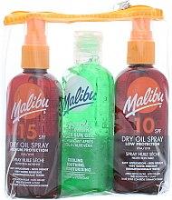 Kup Zestaw do opalania - Malibu (2 x b/oil 100 ml + b/gel 100 ml)