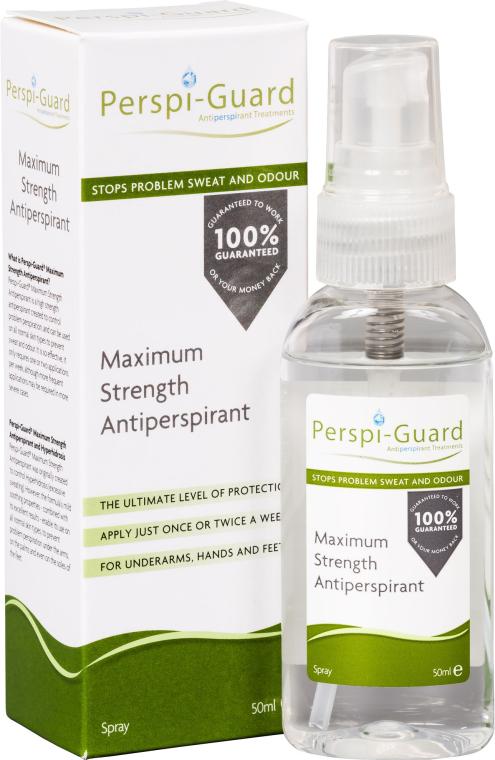 Mocny antyperspirant - Perspi-Guard Maximum Strength Antiperspirant Spray — фото N1