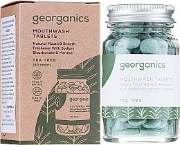Kup Tabletki do płukania jamy ustnej Drzewo herbaciane - Georganics Natural Mouthwash Tablets Tea Tree