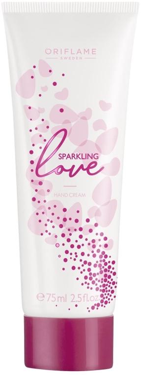 Nawilżający krem do rąk - Oriflame Sparkling Love Hand Cream — фото N1
