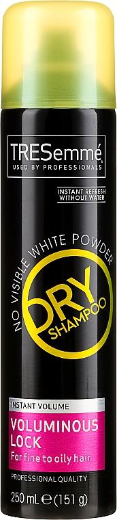 Suchy szampon do włosów - Tresemme Voluminous Lock Dry Shampoo for Fine to Oily Hair — фото N1