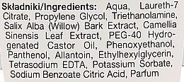 Płyn micelarny do demakijażu Czarna herbata i kora wierzby białej - Marion Detox — фото N3