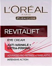 Kup Przeciwzmarszczkowy krem pod oczy - L'Oreal Paris Revitalift Eye Cream