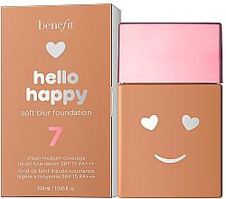 Kup PRZECENA! Podkład dający efekt delikatnego blasku - Benefit Hello Happy Soft Blur Foundation *