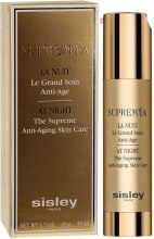Kup Wyjątkowa pielęgnacja odmładzająca na noc - Sisley Supremya At Night The Supreme Anti-Aging Skin Care