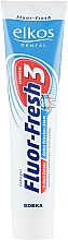 Kup Pasta do zębów odświeżająca oddech - Elkos Dental Fluor-Fresh 3