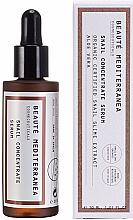 Kup Odmładzające serum do twarzy z koncentratem ze śluzu ślimaka - Beaute Mediterranea Snail Concentrate Serum