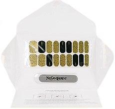 Kup Naklejki na paznokcie - Yves Saint Laurent Couture Metal Manicure Jewel Nail Stickers Grunge Sequins
