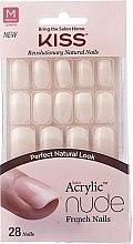 Kup Sztuczne paznokcie z klejem - Kiss Salon Acrylic Nude Nails Cashmere