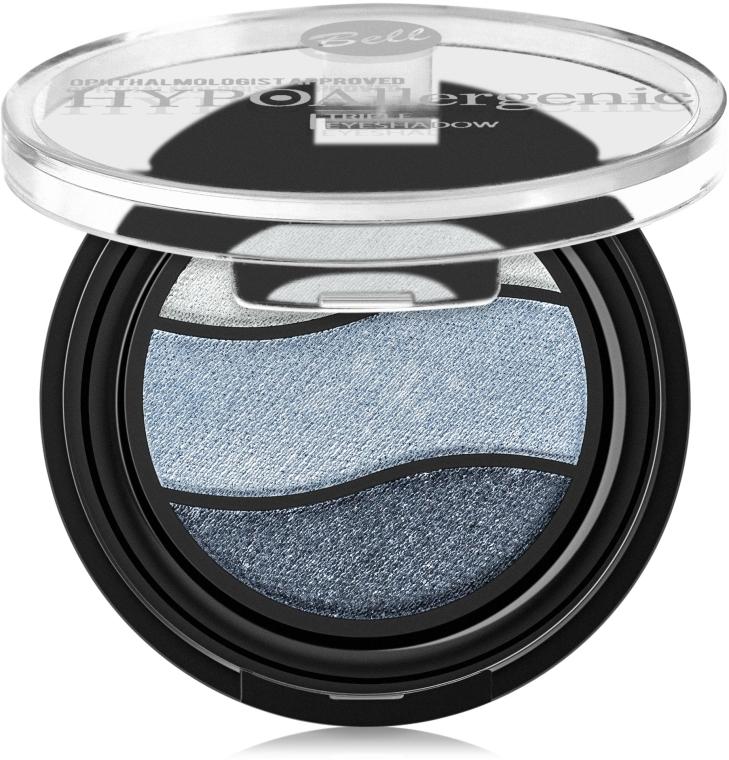 Hipoalergiczny cień do powiek - Bell HYPOAllergenic Triple Eyeshadow