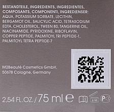 Spray do twarzy z witaminą B - M2Beaute Ultra Pure Solutions Cu-Peptide & Vitamin B Facial Nano Spray — фото N3