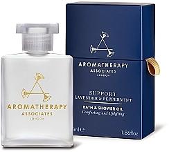 Kup Olejek pod prysznic, Mięta - Aromatherapy Associates Support Lavender & Peppermint Bath & Shower Oil