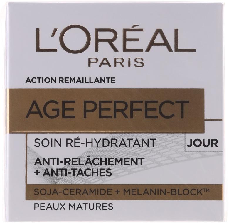 Krem na dzień - L'Oreal Paris Age Perfect Re-Hydrating Day Cream