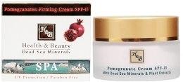 Kup Krem na bazie granatu w celu zwiększenia elastyczności skóry - Health And Beauty Pomegranates Firming Cream SPF 15